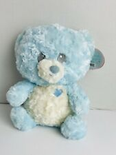 """Baby  By First Main BLUE  Plush Bear Buttercup  12"""""""