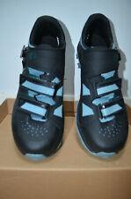 Pearl Izumi X-Alp Summit Mountain Bike Shoes Size 46/11.5 Black w/Teal
