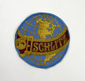 "Schlitz Beer Globe Vintage 1970's Embroidered Patch Badge - 4"" x 4"""