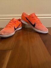 Orange Nike Mercurial Indoor Soccer Shoes Size 8.5