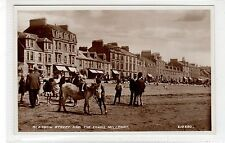 GLASGOW STREET AND THE SANDS, MILLPORT: Isle of Cumbrae postcard (C27951)