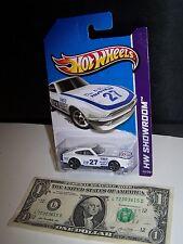 Hot Wheels -  White Datsun 240Z - Doc B Racing - HW Showroom - Import - 2013