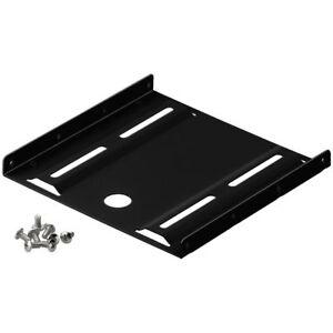 HDD / SSD PC Einbaurahmen - 2.5 auf 3.5 Festplatten Montage Set -inkl. Schrauben