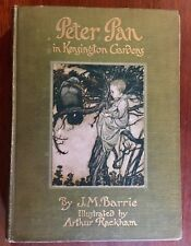1912 Peter Pan In Kensington Gardens By J.M.Barrie Illustrated By Arthur Rackham