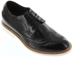 TOTO X6062 - 2.6 Inches Elevator Height Increase Wing Tip Dress Bluchers Shoe