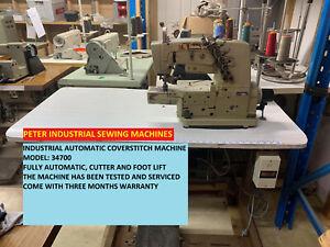 INDUSTRIAL AUTOMATIC COVERSTITCH SEWING MACHINE