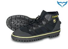 Poseidon Flexi Boot Schuhe Trocki Neopren schwarz feste Sohle Rock Boot Rubber N