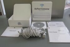 Apple AirPort Extreme Base Station (A1408) &  Extras 802.11n Wi-Fi