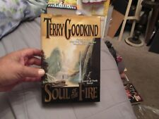 Soul of the Fire BY TERRY GOODKIND HC/DJ FIRST EDITION Sword of Truth