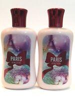 LOT 2 PARIS AMOUR BATH & BODY WORKS SHEA & VITAMIN E BODY LOTION CREAM 8 OZ EA
