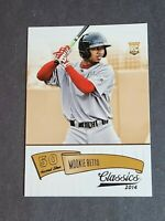 Mookie Betts Rookie RC Red Sox Dodgers 2014 Panini Classics #169 NMMT