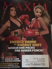 MAXIM Magazine August 2009 ENERGY DRINK vs. ENERGY SHOT 5 Hour Energy