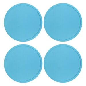 5 Pack UK Premium Rubber Silicone Hot Drink Coasters Place Mat Coffee Tea Mug