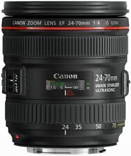 CANON LENS 24-70mm f/4 L-SERIES is USM USA NEW