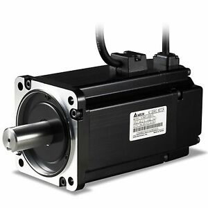 Delta ECMA-C20602FS AC Servo Motor with Brake 220V 200W 3000RPM 60mm