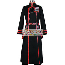 D.Gray-man Yu Kanda 3G Uniform COS Clothing Cosplay Costume