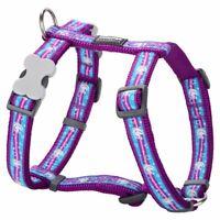 Red Dingo Stylish UNICORN Design Harness / Lead/ ID Tag for Dog / Puppy XS-LG