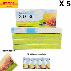 5 Boxes Superlife STC30 Supplement Stemcell activator vitamins DHL Express