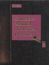 Saunders Manual of Medical Practice, Robert E. Rakel MD, Good Book