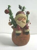 Believe in the Magic of Christmas Santa Suzi Skoglund Figurine