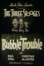 16MM-THE THREE STOOGES IN BUBBLE TROUBLE-1953-MOE-LARRY-SHEMP-SCREEN GEMS PRINT