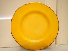 "Vintage Royal Winton Yellow Petunia Tiger Lily 7"" Plate"