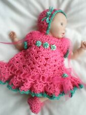 PRETTY OUTFIT  FOR 9 INCH  POLYMER CLAY  DOLLS OR OTHER DOLLS OF SIMILAR SIZE