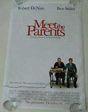 MEET THE PARENTS 27X40 DS MOVIE POSTER ONE SHEET NEW AUTHENTIC