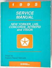 1995 New Yorker LHS Concorde Intrepid Vision Factory Service Manual Shop Repair