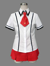Baka to Test to Shoukanjuu Cosplay Costume Female Summer School Uniform Any Size