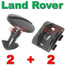 Land Rover Discovery 3 4 parachoques trasero de remolque de clips de cubierta de remolque Ojo vueltos con remate de bloqueo