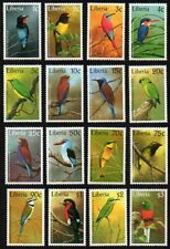 Liberia 1997 Sc. #1278-1293 Birds MNH