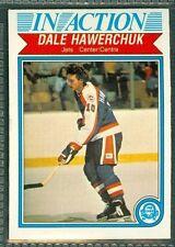 Dale Hawerchuk 1982-83 OPC '82 O-Pee-Chee NHL Card #381 NMc Winnipeg Jets