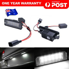 2 x LED Licence Number Plate Light Canbus VW Passat CC Polo GTI Golf MK6 MK5 MK4