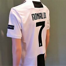 Ronaldo #7 Juventus home men's Jersey White