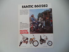 advertising Pubblicità 1974 FANTIC LEI 50/SUPER ROCKET/CHOPPER/TI