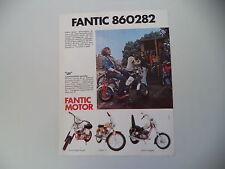 advertising Pubblicità 1974 FANTIC LEI 50/SUPER ROCKET/CHOPPER/TI