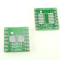 Adapter PCB Converter Board SOP14 SO14 SOIC14 TSSOP14 MSOP14 to DIP14 DIY