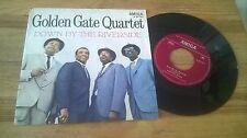 "7"" POP Golden Gate Quartet-down by the riverside/Saint Louis (2) canzone Amiga"