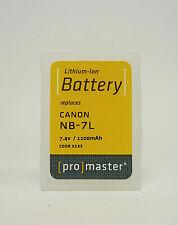 PROMASTER NB-7L CANON BATTERY 2132