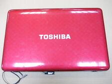 TOSHIBA SAT L750-201 Screen Lid Rear Cover / Cables/ Hinges/ Bezel A000080650