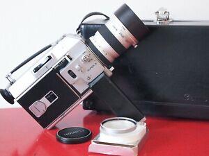 NEAR MINT Canon Auto Zoom 814 Super 8 film camera TESTED & FREE SHIPPNG WRLDWDE