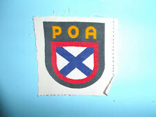 b8800 WW2 German Army Russian Volunteer Sheild POA ROA Russo Liberation GIA51