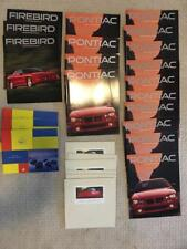 26 Piece 1990s - 2000s Acura Pontiac Grand Prix Oldsmobile Firebird Brochure Lot