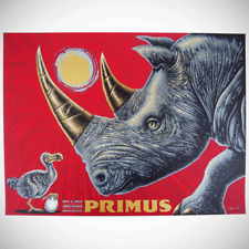 Primus Poster 5/11/2018 Austin 360 TX Signed & Numbered #250 Slater