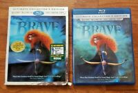 BRAVE 3D COLLECTOR'S EDITION – BLU-RAY 3D + BLU-RAY + DVD MOVIE + DIGITAL HD