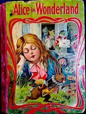 ALICE IN WONDERLAND ~ Carroll/TennIel ~ RARE 1900's Victorian Children's Book