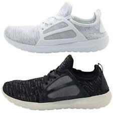 Mens New Crosshatch Hightops Casual Trainers Sneakers White Black BNIB
