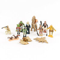Lot of 12 Vintage 1996 Star Wars Micro-Machines Aliens & Creatures Galoob