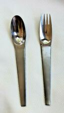 "CARL AUBOCK Amboss Stainless MAESTRO Salad Fork, 5 7/8"" and Spoon 5 3/4"""